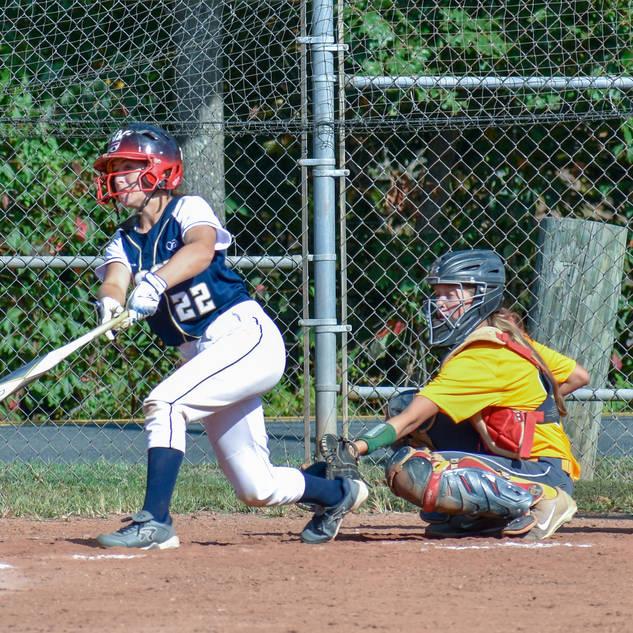 Jenna Gets the Bat on the Ball