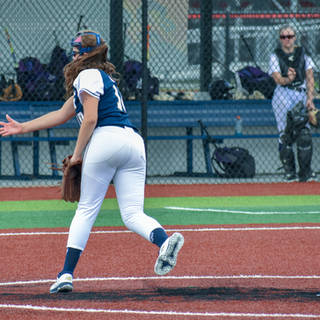 Violet Marta Pitches against the Cape Fear Storm