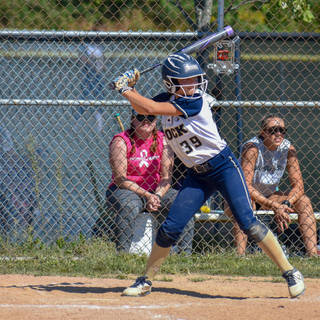 Alayna Giampolo At Bat Against the Ruthless