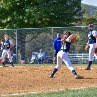 Jenna Makes the Play at Third Base