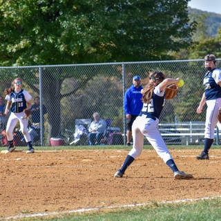 Jenna Makes the Play at Third Base