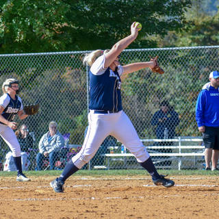 Kady Olsen Pitching Against the Delco Diamonds