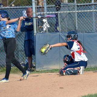 Ava Mahnken Catches Strike Three