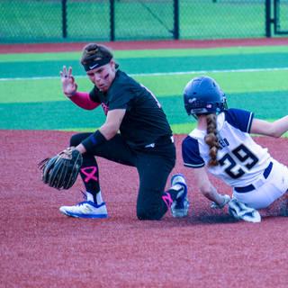 Katie Steals Second Base