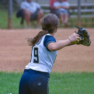 Alayna Throws in from Center Field