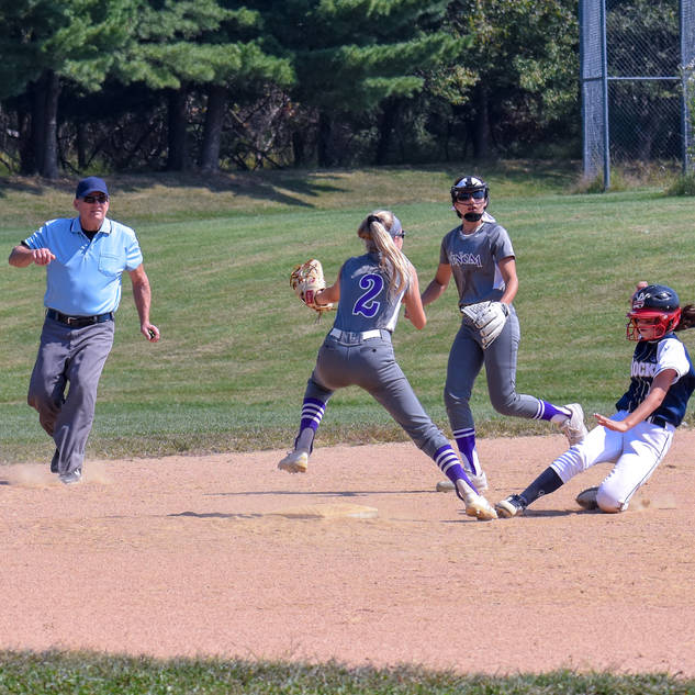 Ava Beal Steals Second