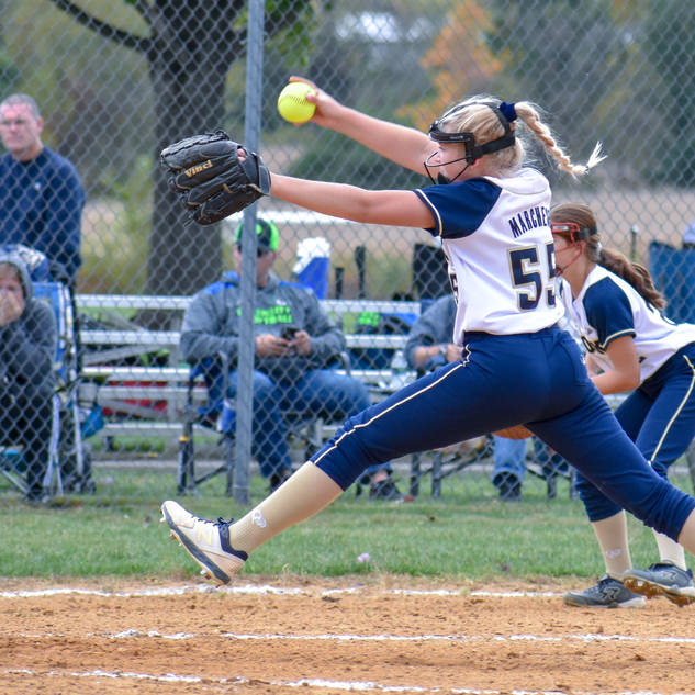 Emma Marchese Pitches Against the Intensity