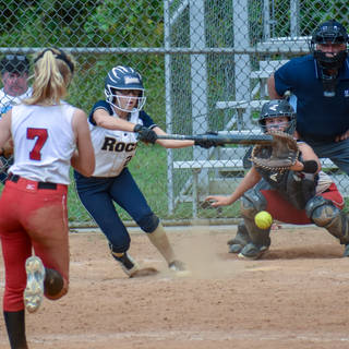 Angelina Gets a Bunt Down