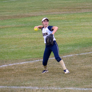 Angelina Benitez Throws the Ball in from Center
