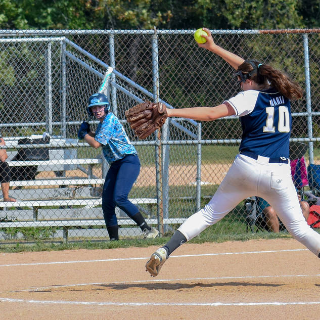 Violet Marta Pitching Against the Chaos
