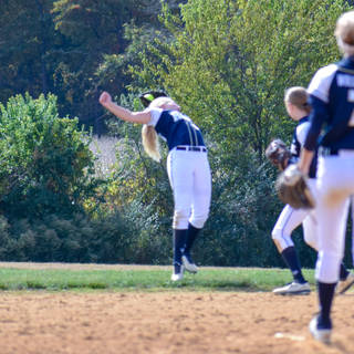 Emma Makes a Tough Catch in Right Field