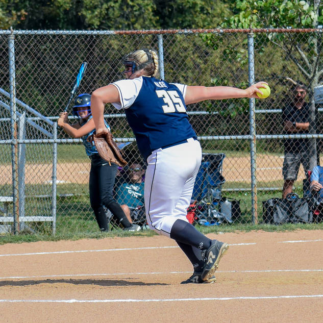Kady Olsen Pitching Against the Chaos