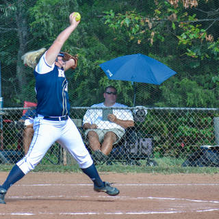 Kady Pitching in Virginia