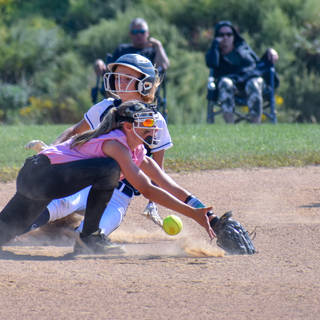 Alayna Giampolo is Safe at Second