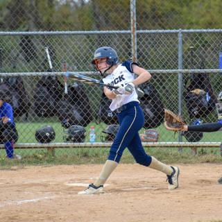 Katie Reed Gets a Hit Against TLI 23