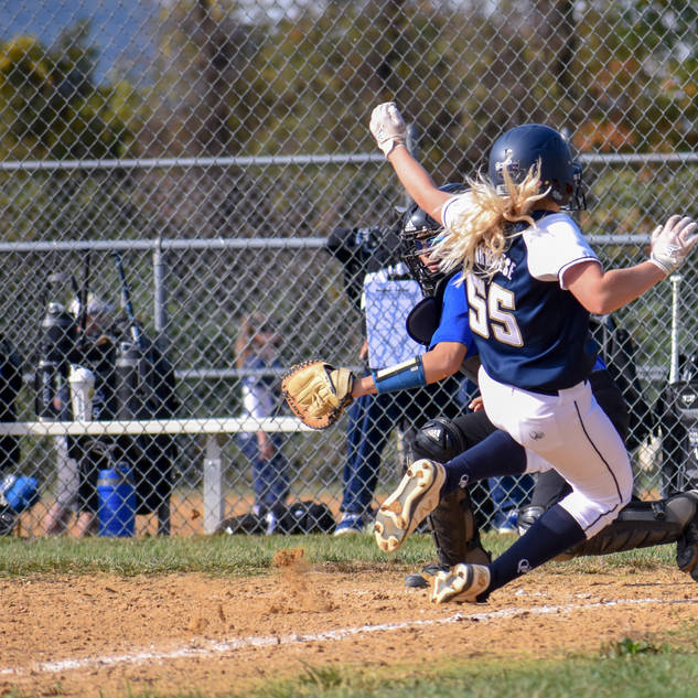 Emma Marchese Slides Home