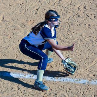 Jenna Morrison Takes a Ground Ball