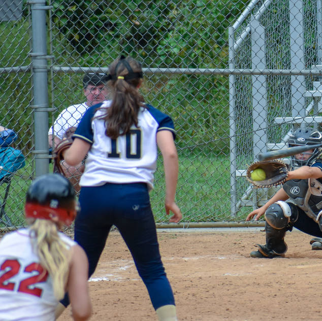 Violet Gets the Batter to Swing and Miss