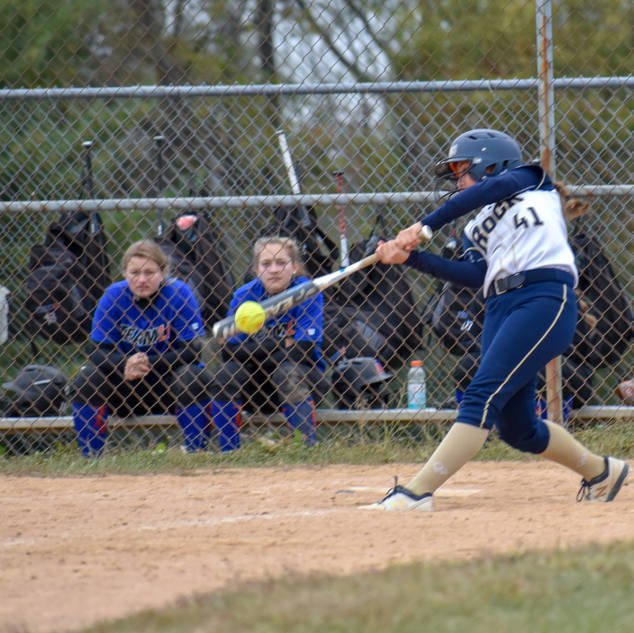 Abbey Valente Drives One Against TLI 23