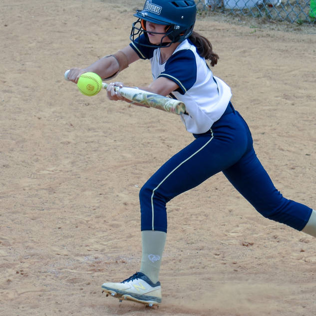 Ava Beal Gets a Bunt Down