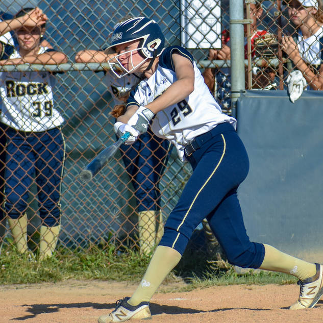 Katie Reed Hits a Line Drive