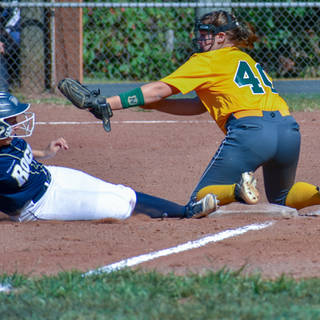 Abbey is Safe at Third