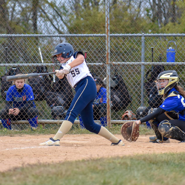 Emma Marchese Hits a Line Drive