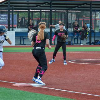 Helen Beats a Throw to First