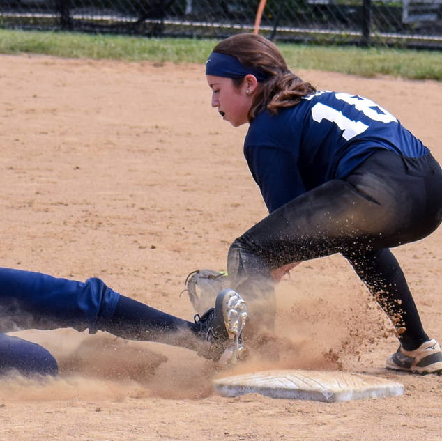 Jenna is Safe at Second