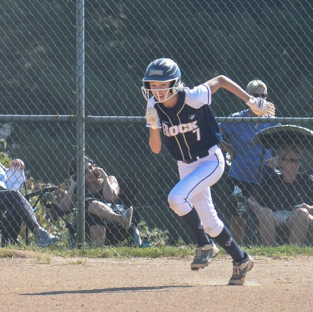 Helen Woloshyn Steals Second Base