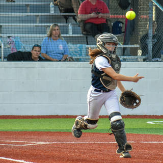 Jenna Throws to First