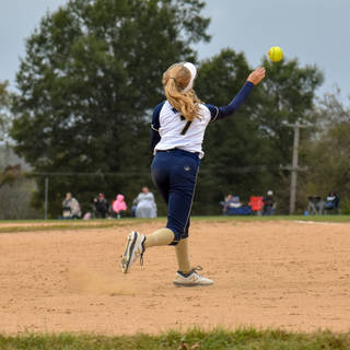 Helen Woloshyn Makes Throws to First Base