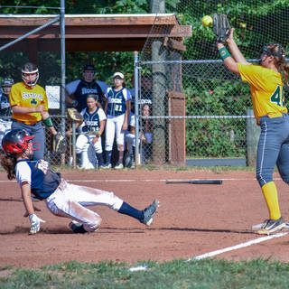 Ava is Safe at Third