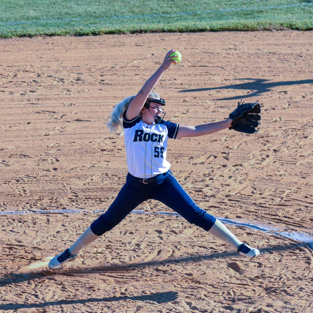 Emma Marchese Pitching against the SJ Mystics