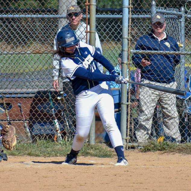 Violet Marta Hits a Home Run
