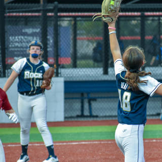 Ava Beal Makes the Catch at First