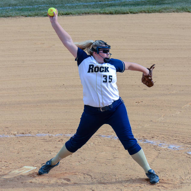 Kady Olsen Pitches Against the Delco Liberty