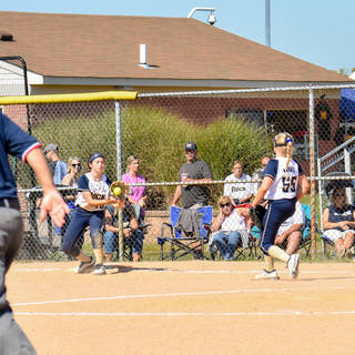 Emma Tosses to Ava Beal