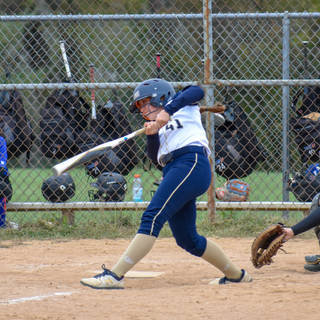 Abbey Valente Gets a Hit Against TLI 23