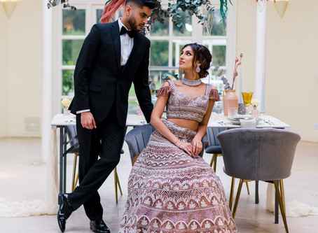Delicately Bright - stunning Asian wedding style ideas from Stapleford Park