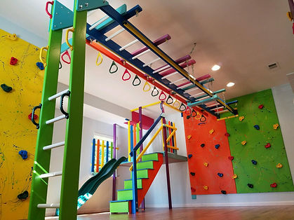 A Fun Factory gym for children with developmental delays