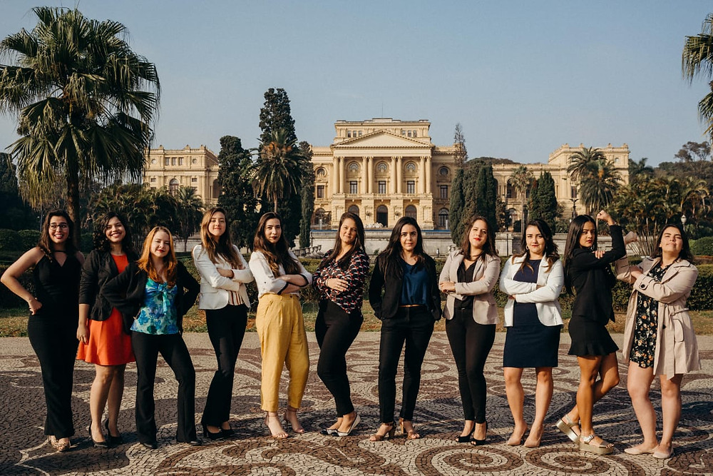 Foto: Membras mulheres da diretoria 2018 da AIESEC no Brasil | Fonte: Daniel Raposo