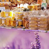 Le stand des ruchers...