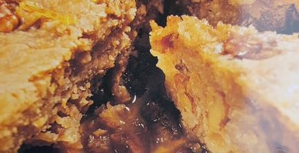 Gâteau au miel et noix