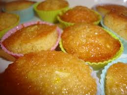 Mini cakes citron & miel