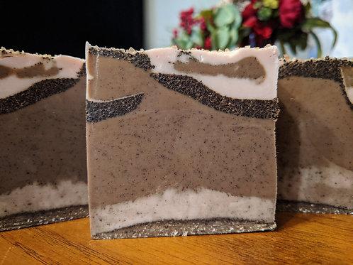 Coffee, Vanilla and Oats Soap