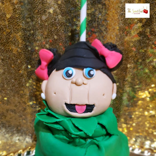 Cabbage Patch Kid Chocolate Covered Apple