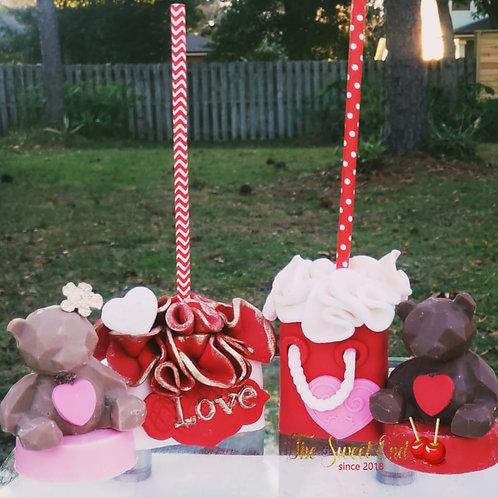 Valentine's Day RKT Gift Bags & Teddy Bear Oreos