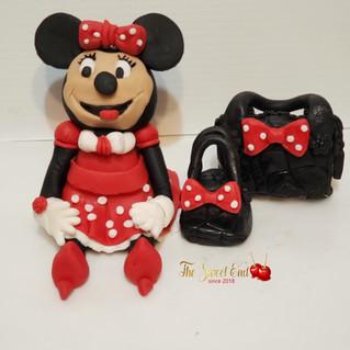 Minnie Mouse Rice Krispy Set