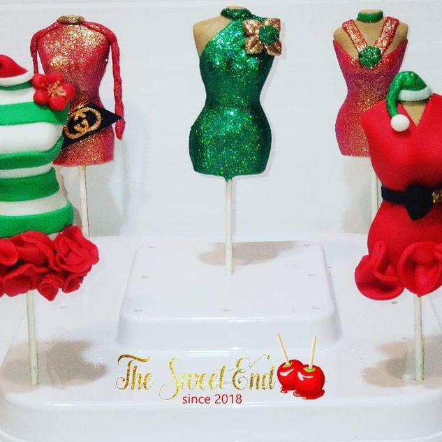 Chocolate Holiday Lollipops